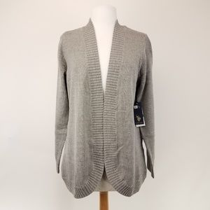U.S. Polo Assn. Open front cardigan sweater L NWT
